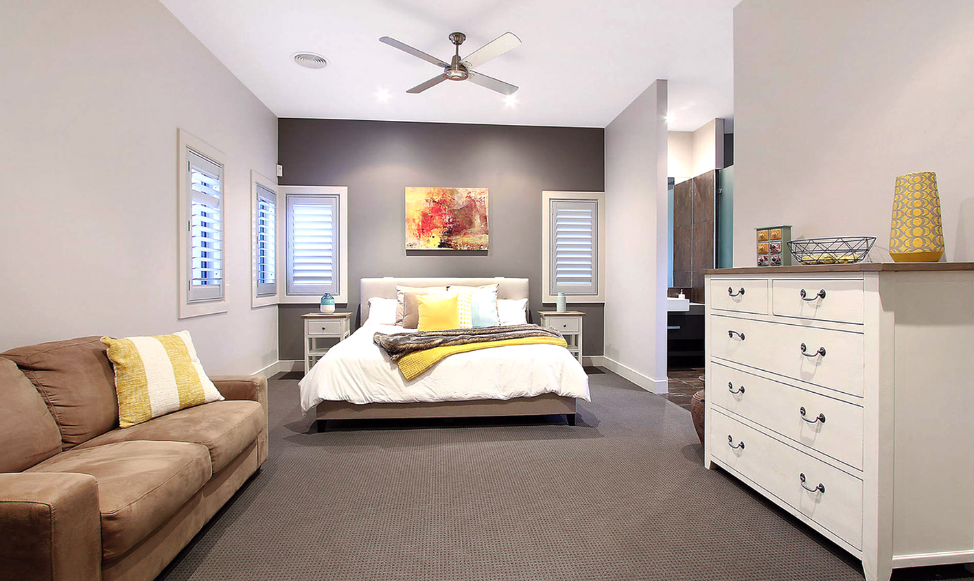 Golfers Retreat Bedroom