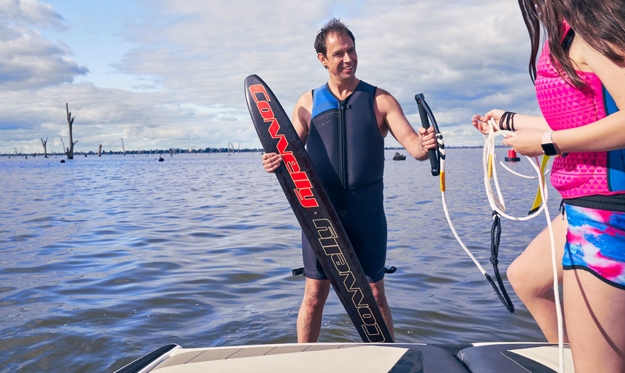 Water Skiing Lake Mulwala