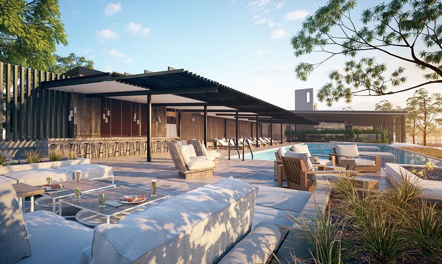 Sebel Yarrawonga Pool Bar