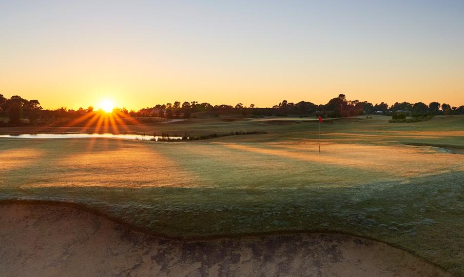 Black Bull Golf Course Sunrise