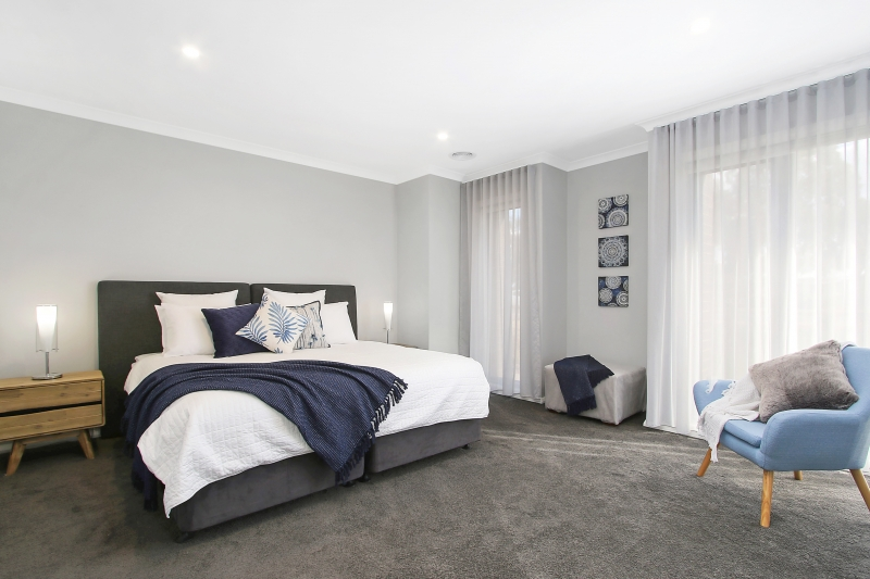 Lake Resort Bedroom