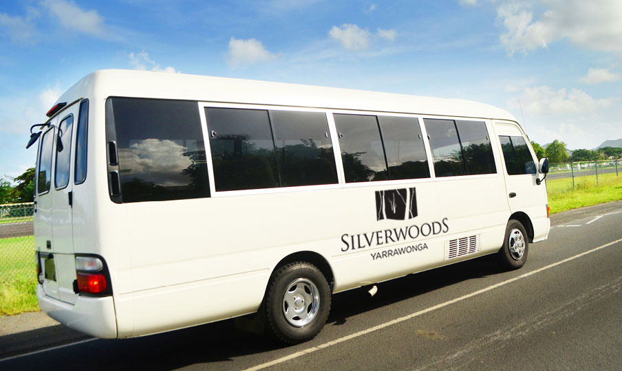 Silverwoods Courtesy Bus